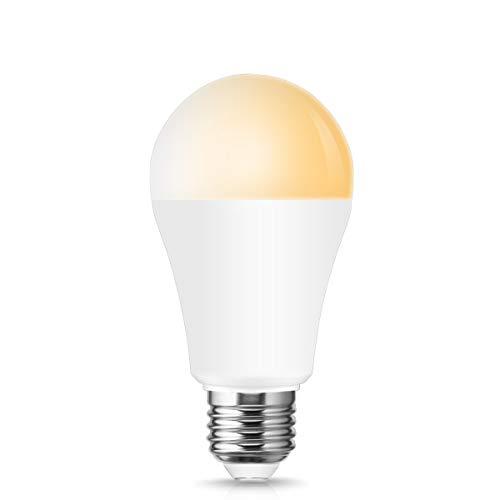 ロハス WIFI スマート LED電球 E26口金 100W形相当 冷暖調色 調光 【Amazon Echo&Google Home対応】 ハブ不...