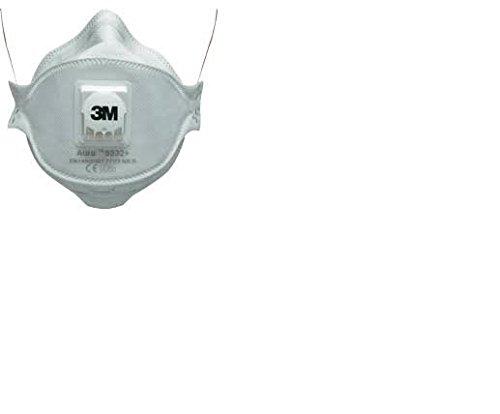 3M 9332+ Respiratore Monouso, 10 Pezzi