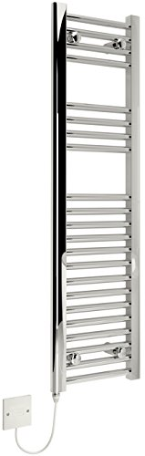 Kudox électrique Sèche-serviettes – 300 x 1100 mm support Chrome