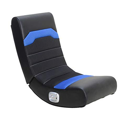 X Rocker Stark 2.0 Bluetooth Wireless Foldable Rocking Video Gaming Floor Chair with 2 Speakers,...