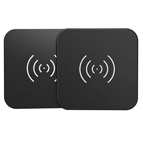 CHOETECH Cargador Inalámbrico, Qi Wireless Charger [2 Pack],...