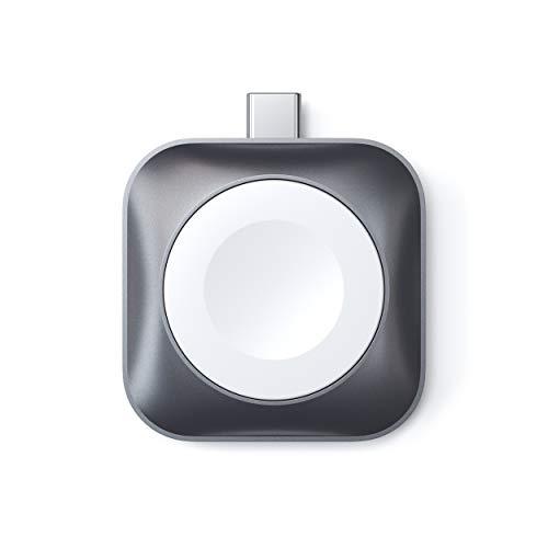 Satechi USB-C Apple Watch 充電ドック [MFi認証] マグネット式 ポータブルウォッチ チャージャー 充電器 (...