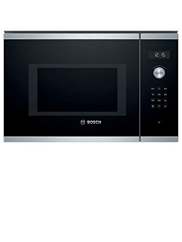 Micro ondes Grill Encastrable Bosch BEL554MSO - Micro-Ondes + Grill Intégrable Inox et noir - 25 litres - 900 W