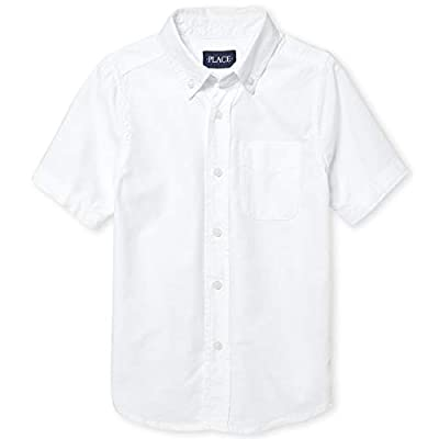 Made of 100% cotton oxford Button-down collar with button front Chest pocket Curved shirttail hem