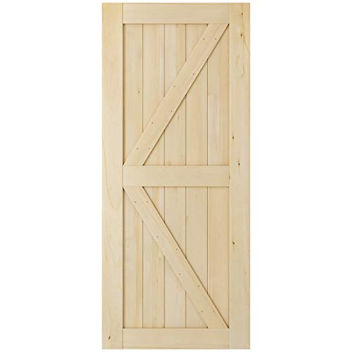 SmartStandard 36in x 84in 2-Panel Wood...