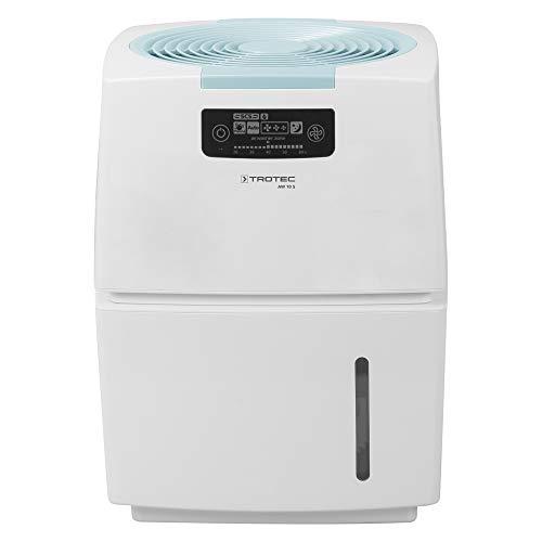 TROTEC Kombigerät 3 in1 AW 10 S: Luftbefeuchter, Luftreiniger & Geruchsbeseitiger / Luftwäscher / Airwasher / UV-Ionisator