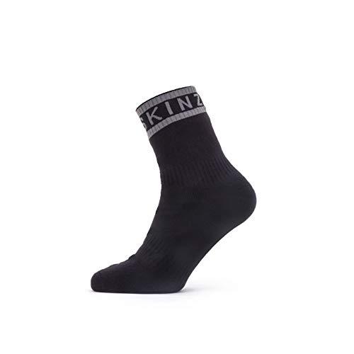 Seal Skinz Waterproof Warm Weather Ankle Length Sock with Hydrostop, Calzini Unisex-Adulto, Nero, M