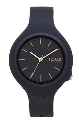 Rip Curl Women's Aurora Quartz Sport Watch with Polyurethane Strap, Black, 14 (Model: A2696GGOL1SZ)