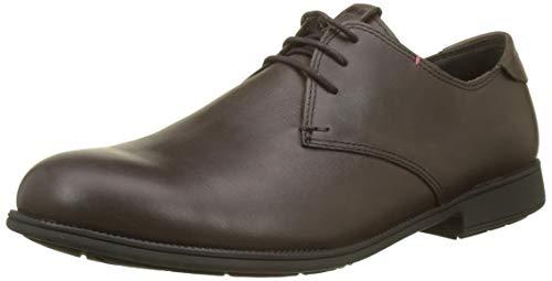 Camper 1913, Zapatos de cordones Oxford para Hombre, Marrón (Dark Brown 200), 41 EU