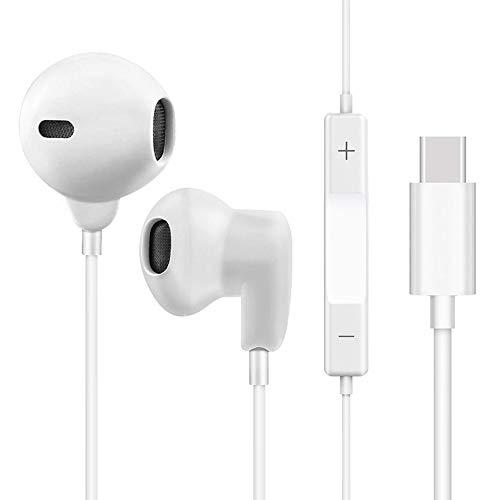 USB C Auricolare, Yeebline USB Tipo C Auricolare/Auricolari/Cuffie in-Ear con Controllo [in-Line] Compatibile con Telecomando e Microfono Integrato Huawei P20 PRO e più dispositivi interfaccia