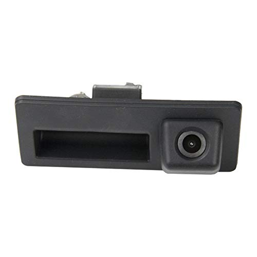 HD 720p Telecamera per la Retromarcia Retrocamera per Audi A4 S5 Q3 Q5 VW Passat B6 B7 Tiguan Passat Touran Touareg Golf Plus , telecamera posteriore impermeabile visione notturna