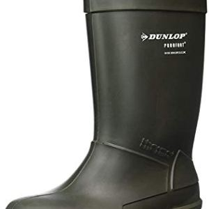 DUNLOP Women's Thermo S5-5 – C662933 Boots Green Rubber UK 5|EU 37/38|US 4/5