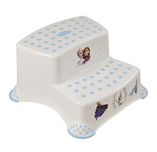 Lulabi - Sgabello Disney Frozen, Step 2 Gradini, Bianco