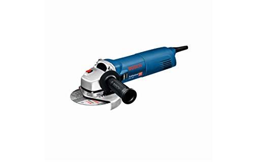 Bosch Professional GWS Meuleuse Angulaire GWS 1400 (Moteur de 1400 W, Diamètre de Disque 125 mm, Flasque de Serrage, Capot de Protection, Ecrou de Serrage, Clé à Ergots, Boite Carton)