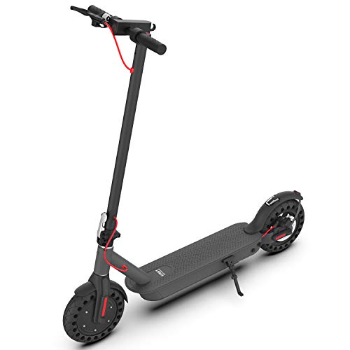 Hiboy S2 Pro Electric Scooter - 10' Solid Tires - 25 Miles Long-range & 19 Mph Folding Commuter...