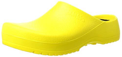 Birki Super Yellow, Zuecos Mujer, Amarillo, 37 EU