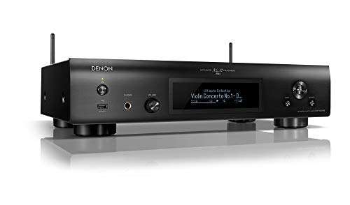 Denon DNP800NEBKE2 Netzwerk Player (HEOS, amazon music, spotify, internetradio, deezer, juke, musik streaming, multiroom) Schwarz