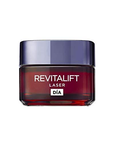 L'Oréal Paris Crema de Día Anti-Edad Intensiva Revitalift Láser, Con Pro- Xylane...