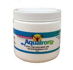 The Aquaponic Source AquaIron DTPA Iron Chelate - 8 oz