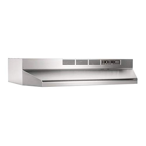 Broan-NuTone 413004 Non-Ducted Ductless Range Hood with Lights Exhaust...