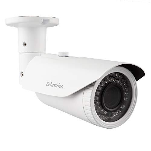 Evtevision 5MP telecamera di sicurezza AHD/TVI/CVI/CVBS 4 in 1 Videocamera di Sorveglianza 42 IR Leds 2.8-12mm obiettivo varifocale 130Feet/40M Visione notturna Impermeabile IP66