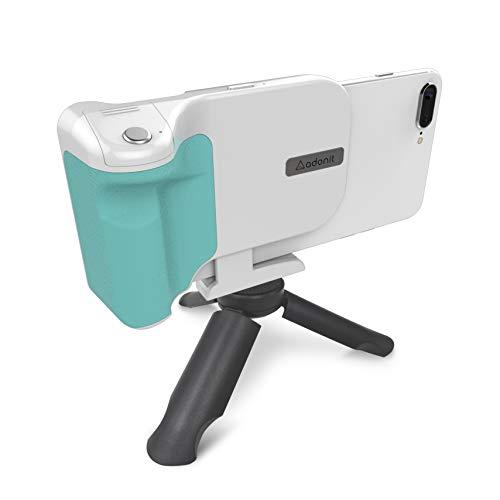 スマホ撮影をグレードアップ!無線充電で長時間撮影も対応のPhotoGrip Qi (ホワイト)