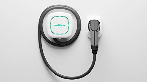 Wallbox Pulsar - Tipo 2. Potencia 7,4 kW Blanco, Cable 5m