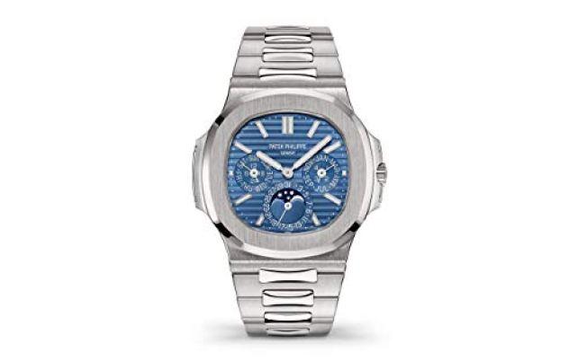 Patek Philippe Nautilus White Gold 5740-1G-001 with Blue Sunburst dial