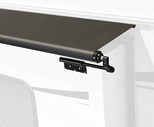 Black Slide Topper Awning - 6'6' (6'1' Fabric)