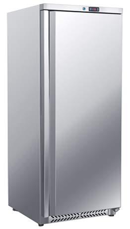 Frigorifero in acciaio inox 600 litri con 1 porta