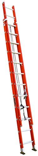 7. Louisville Fiberglass Extension Ladder