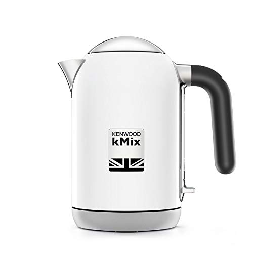 Kenwood ZJX650BK Wasserkocher kMix 2200 Watt, Metall, 1 Liter, weiß