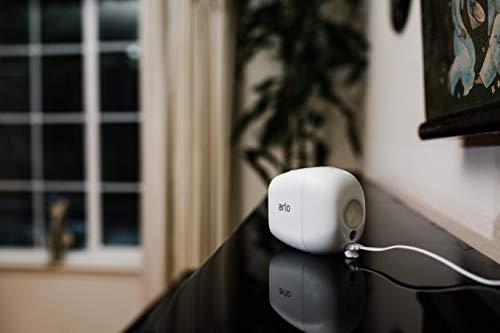 31ddN5BYtrL Bon plan Arlo Pro 2 | Caméra de Surveillance WiFi sans Fils - Pack de 3, Batteries Rechargeables & Accessoire Arlo Bras de F...