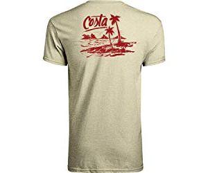 Costa Del Mar Men's Beachside Short Sleeve T Shirt