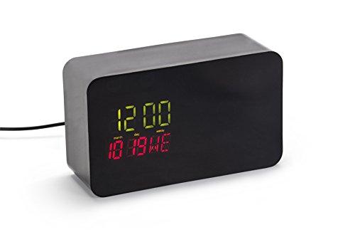 Hidden Clock Case Compatible with Nest Cam Indoor - Hidden Dropcam Pro Enclosure (Black)