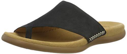 Gabor Shoes Damen Gabor Jollys-03.700 Pantoletten, Blau (Nightblue), 42 EU