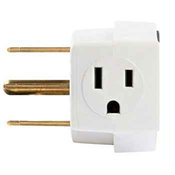 Southwire 9042SW8801 UL Listed Electrical Outlet Gas Range Adapter Converting A 250 Volt Receptacle for an Electrical Range to a 125 Volt Receptacle for A Gas Range