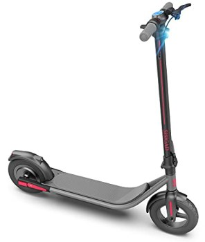 SISIGAD Electric Scooter,10-inches Tires,500W Motor Max Speed 19MPH, Long Range Battery,Foldable and Portable Commuting Electric Scooter for Adults,UL Certified