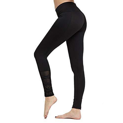 WTFYSYN Femminili Traspirante Pantaloni da Yoga a Vita Alta,Pantaloni da Fitness Sportivi Skinny...