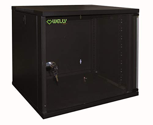 Welly Enjoy WY40000 Armadio Rack 19', 6 Unit, Profondit 450 mm, Nero