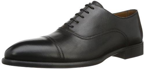Lottusse L6553-01109-01 - Mocasines para hombre, color Negro (LonDark Old), talla 43 EU (9 UK)
