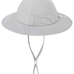 Simplicity Toddler's Adjustable UPF 50+ Sun Protection Wide Brim Travel Hat