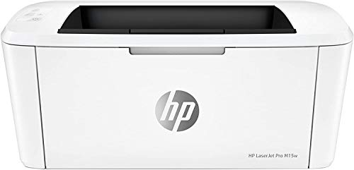 HP LaserJet M15w Stampante Laser Monocromatica, Scanner e Fotocopiatrice Tramite App HP Smart,...