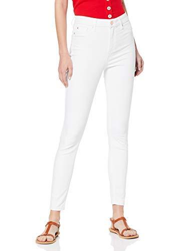 Miss Selfridge Lizzie Jeans Skinny, Bianco (White 190), 44 (Taglia Produttore: 12) Donna