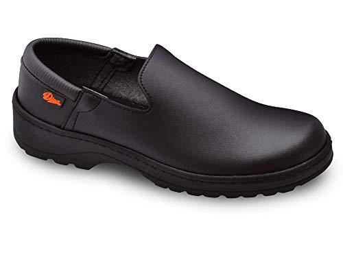 Marsella Negro Talla 41 Marca DIAN, Zapato de Trabajo Unisex Certificado EN ISO 20347.