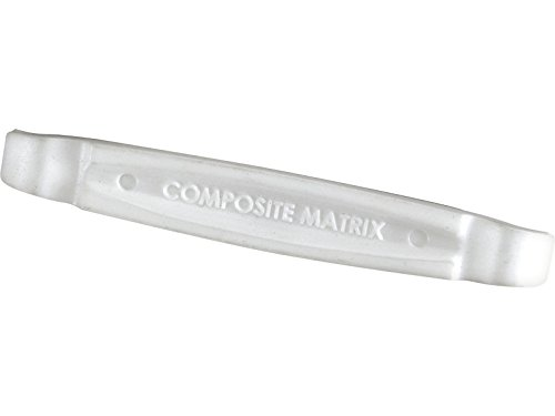 LEZYNE Matrix Lever, Leva per Pneumatici. Unisex-Adulto, Bianco, Taglia Unica