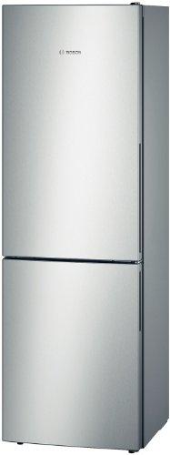 Bosch Serie 4 KGV36VL32S - Frigo-congelatore indipendente in acciaio inox (307 L, SN-T, 7 kg / 24h,...