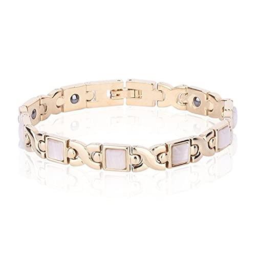 YXSLC Bracelet Femmes élégantes Rose...
