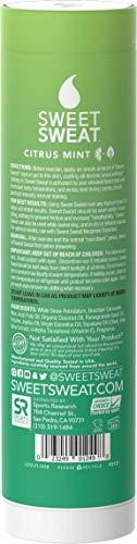 Sweet Sweat Citrus Mint 'Workout Enhancer' Gel | 6.4oz Roll-on-Stick 4