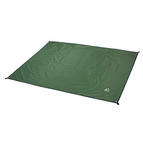 Terra Hiker Camping Zelt Tarp, Outdoor Plane, Wasserdichte Picknickdecke mit Tragetasche (Dunkelgrün S: 150 cm x 220 cm)